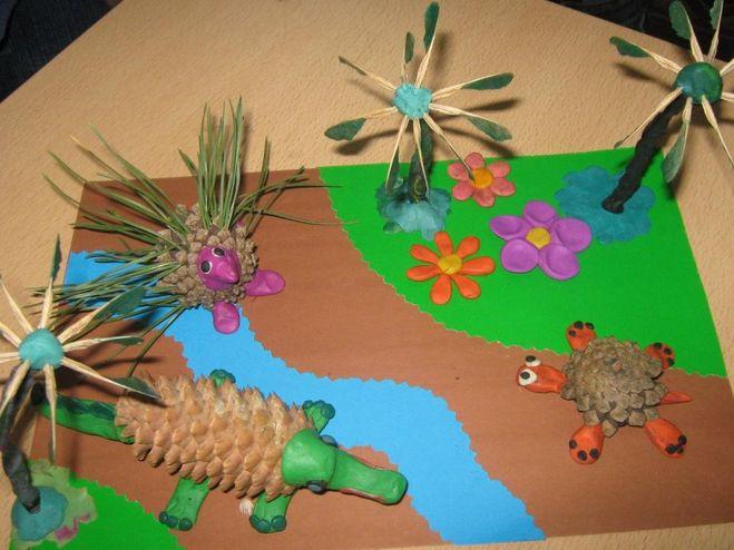 Экологическая поделка в садик