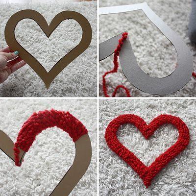 Как сделать своими руками сердце на свадьбу