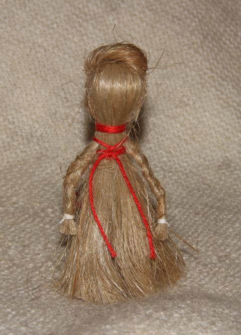 Куклы из сена своими руками фото