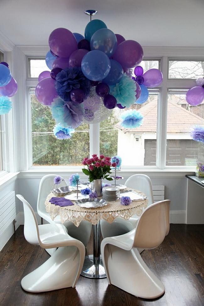 Как украсить комнату на день рождения мужа фото