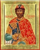 Икона Св. бл. кн. Александр Невский