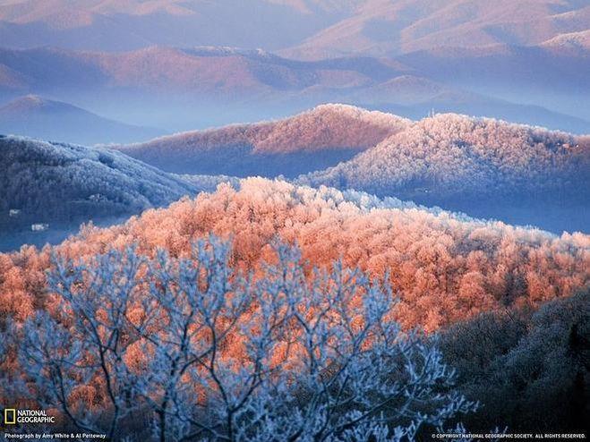 пейзаж, США, фото