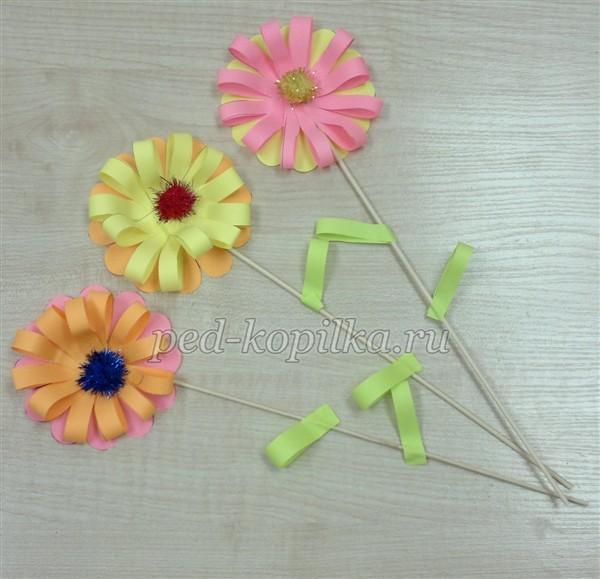 Цветы для мамы поделки своими руками