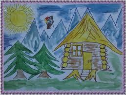 как нарисовать сказочный домик поэтапно вместе с ребенком, откуда срисовывать. Рисунки сказочный домик, примеры