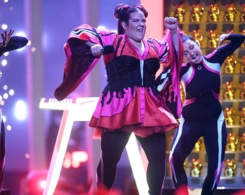 Нетта Барзилай на Евровидении 2018
