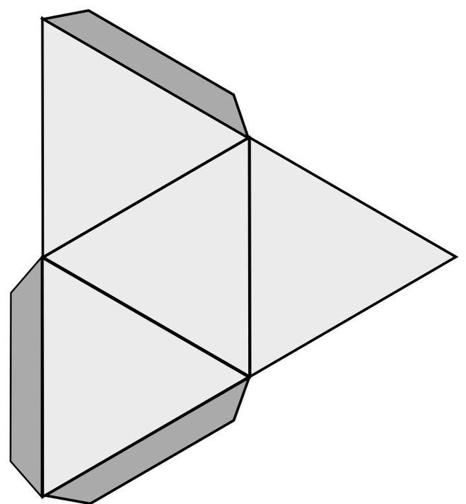 Как сделать бумажный фигура 86