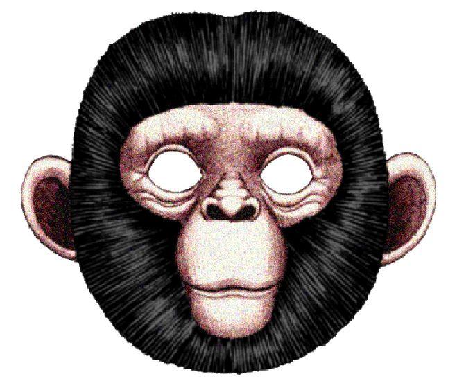Как сделать маску обезьянки своими руками