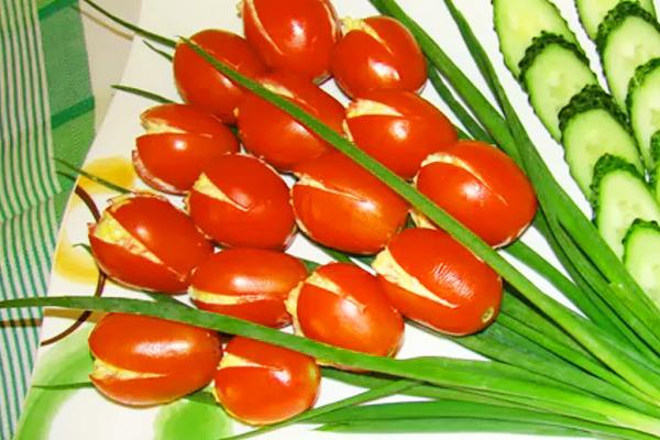 Овощная Нарезка Красиво