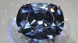 Темно-синий бриллиант весом в 35 карат был назван