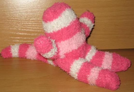 Сшить обезьянку из носок