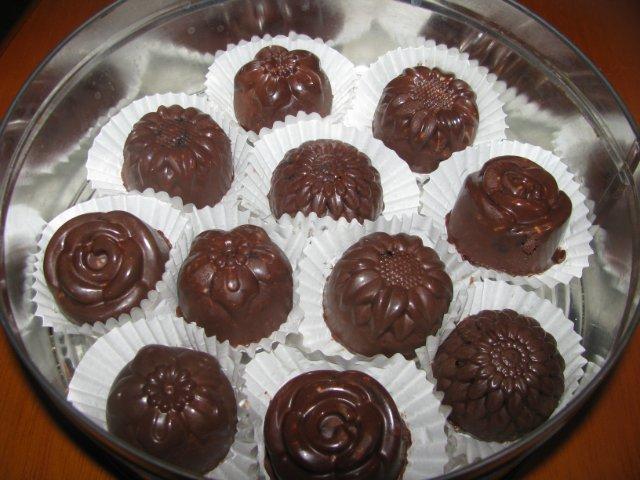 фото рецепт шоколада формах