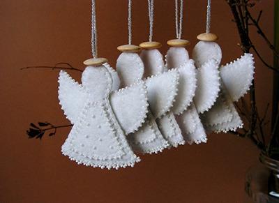 Ангелы из фетра своими руками выкройки