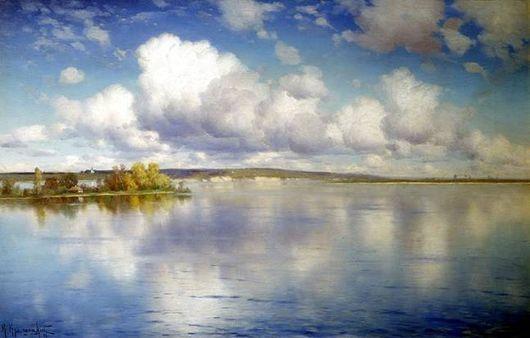 Крыжицкий Озеро описание картины