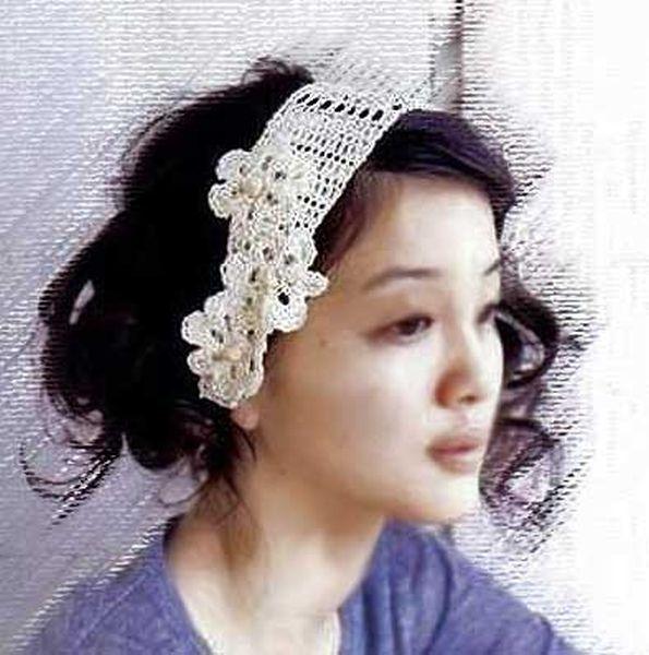 Как сделать повязку из цветов на голову своими руками