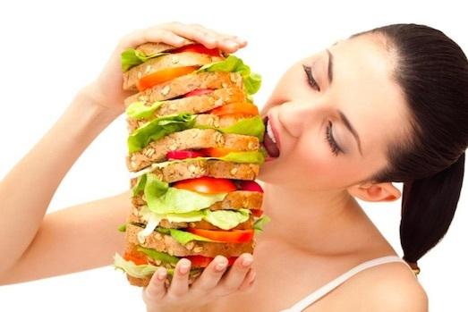 переедание, один день переедания, лишний вес