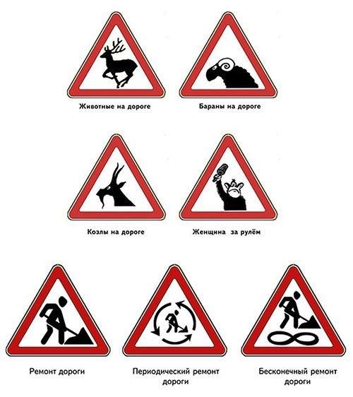 Дорожные знаки конкурс на юбилей