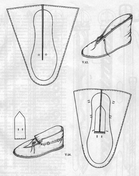 Модели обуви своими руками