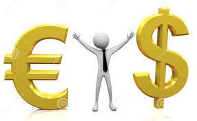 знаки евро и доллара