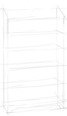 Рисуем шкаф 1