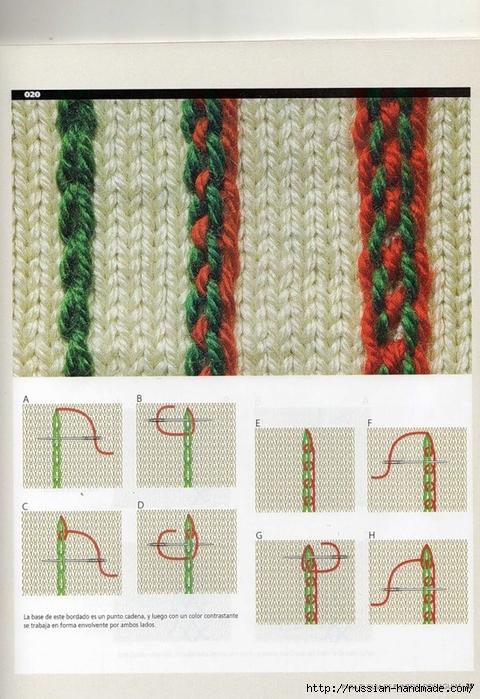 вышивка трикотаж
