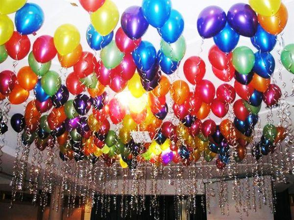 Много шариков с днем рождения картинки