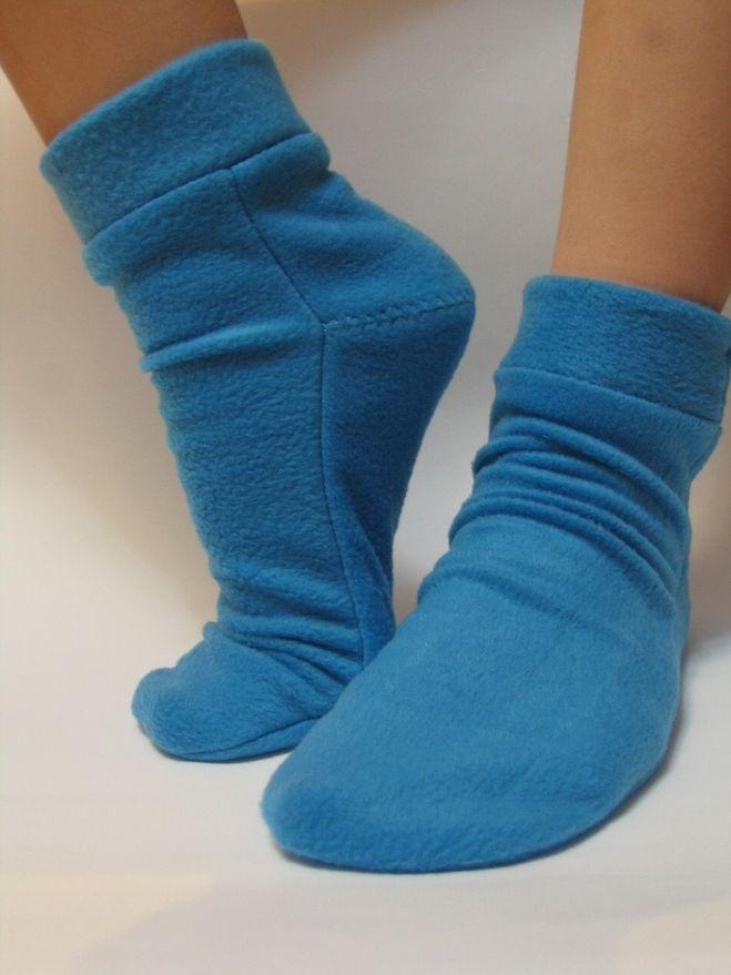 Как сшить носки