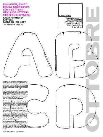 Выкройки букв подушек распечатать фото 813