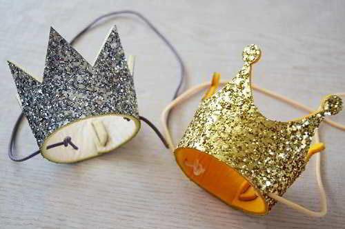 Как сделать корону золотой рыбки из бумаги своими руками