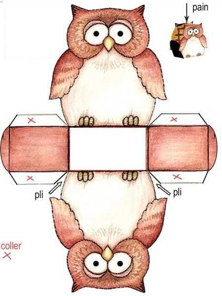 Сова-коробочка