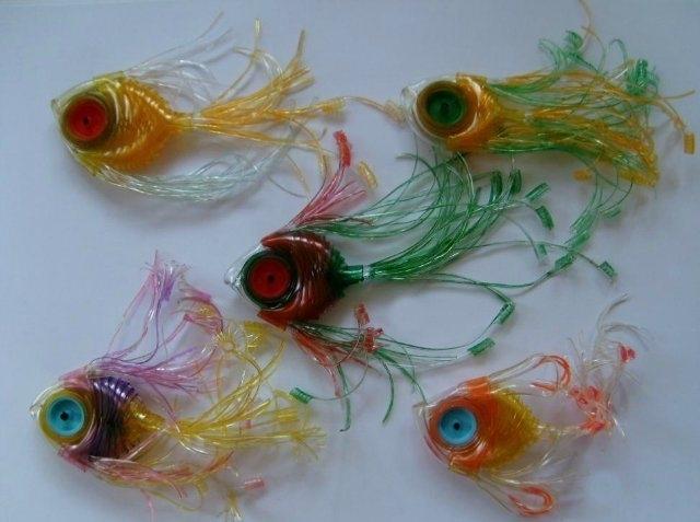 рыбки из капельниц