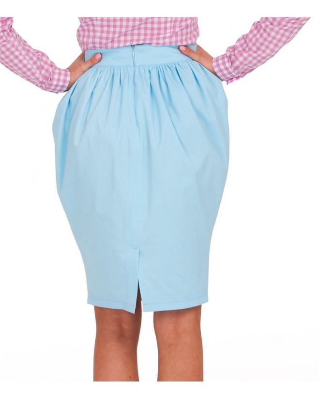 Как сшить юбку тюльпан в