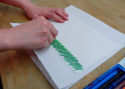 рисунок трава своими руками сначала карандашом