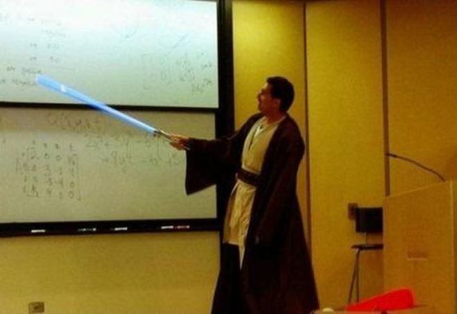 Смешной учитель начальных классов