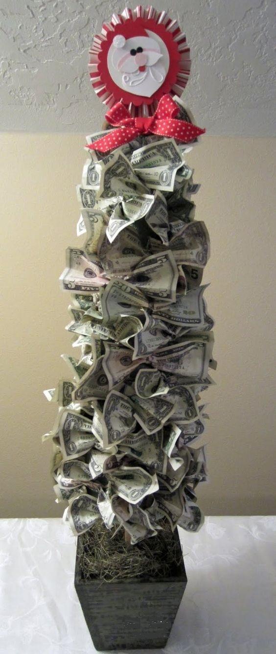 Поделки из денежных купюр фото 25