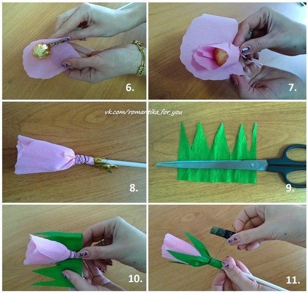 Как сделать букет из конфет своими руками для мужчин