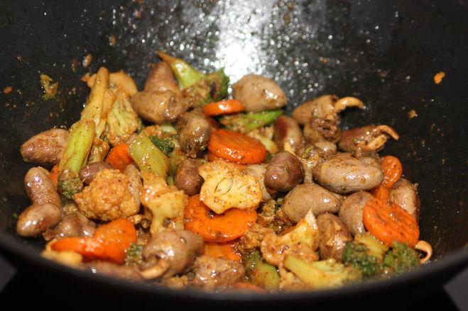 Как готовить куриные сердечки рецепт с фото