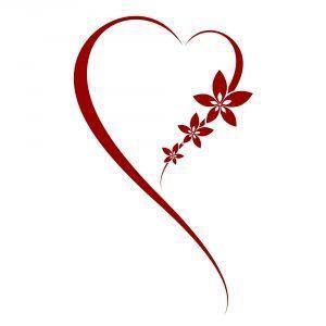"""Цветочное"" сердце"