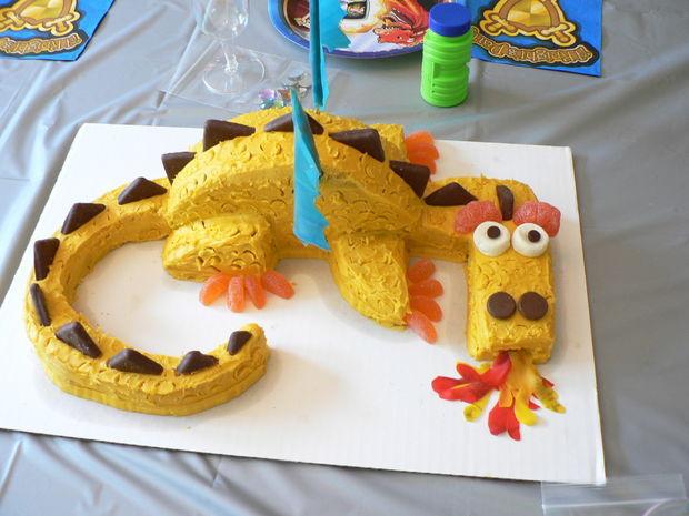 торт дракон своими руками мастер-класс
