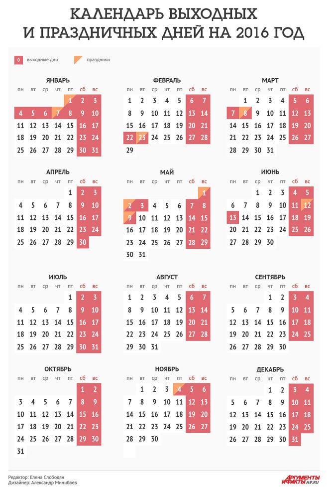 Календарь на 2012 год праздники
