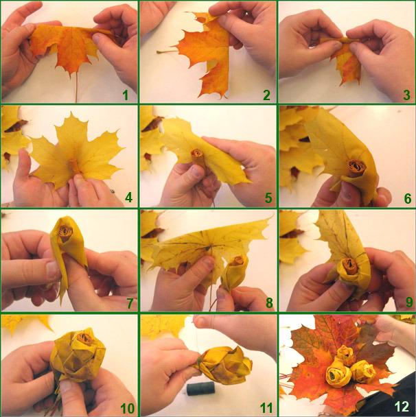 Осенняя поделка как сделать фото