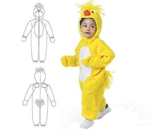 Как сделать костюм утки
