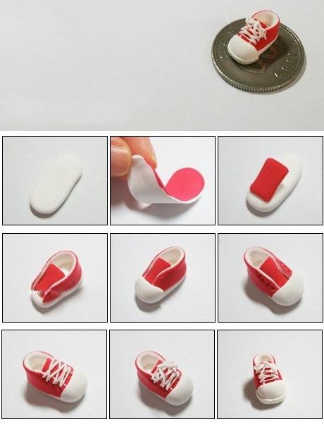 Как сделать кроссовки для мастика 530