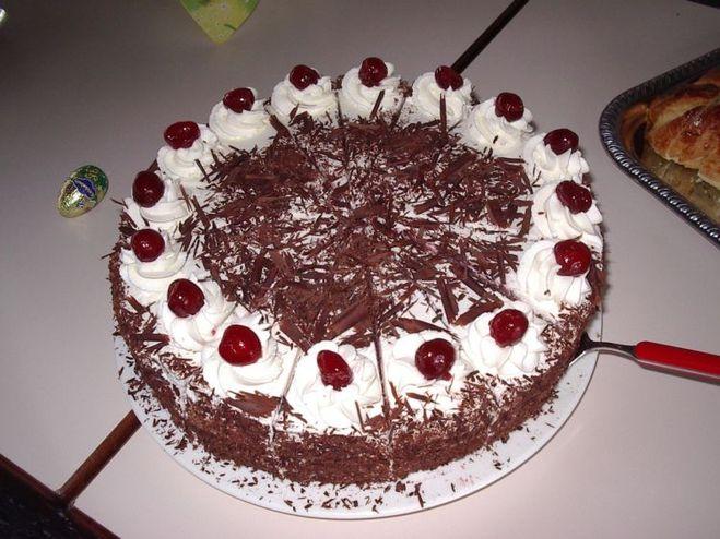 Простой торт с вишней в домашних условиях рецепт