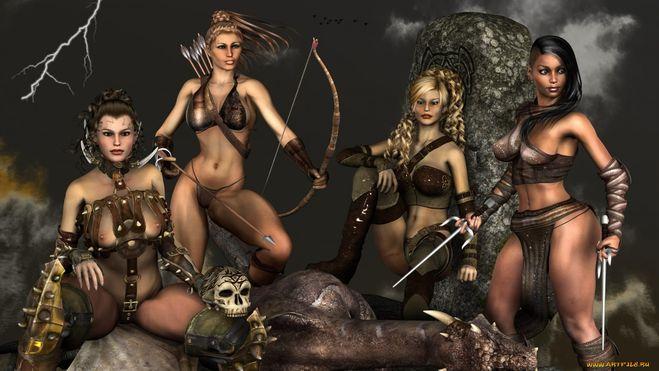 Сексопильные амазонки