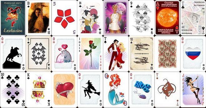Игральные карты сделать своими руками 22