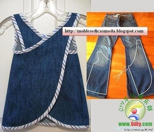 Как сделать фартук юбка
