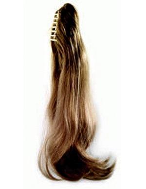 Как плести шиньон из натуральных волос своими руками видео
