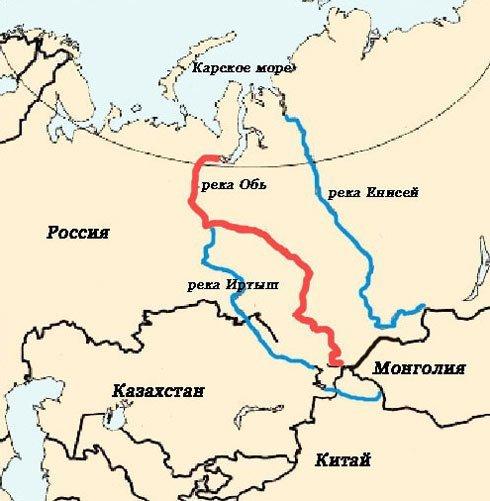 Куда течет река иртыш в омске схема фото 218