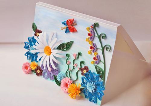 Подарок маме открытки своими руками