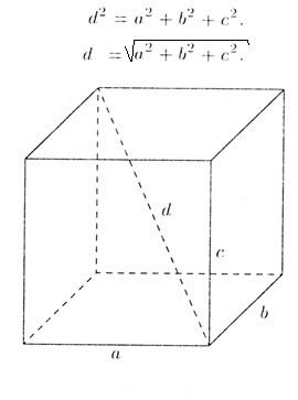 Как находится объем прямоугольного параллелепипеда